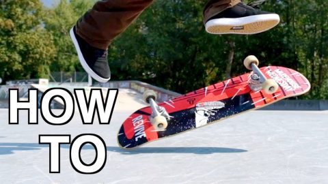 HOW TO TOE KICKFLIP - Jonny Giger