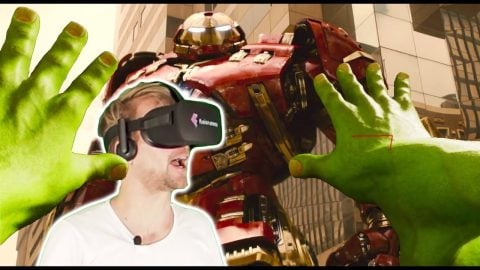 HULK SIMULATOR in Virtual Reality - Avengers VR - Fabian Doerig