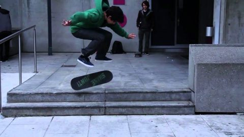 Matias Piccinini - Ollie Impossible, Switch Flip, BS Flip - Will