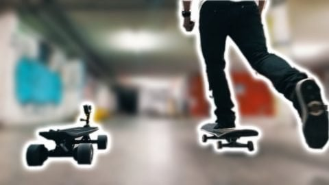 The Selfie Skateboard - Fabian Doerig