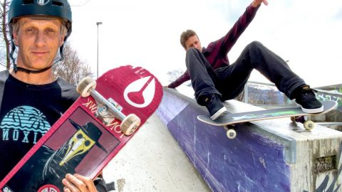 TONY HAWK SPECIAL TRICKS POSSIBLE IN REAL LIFE? - Jonny Giger