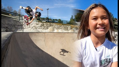 11-Year-Old Olympian Sky Brown's Day Out | The Berrics