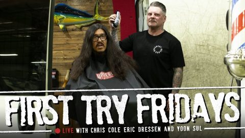 15 Years of Hair on the Line | Chris Cole - First Try Fridays... LIVE! | The Berrics