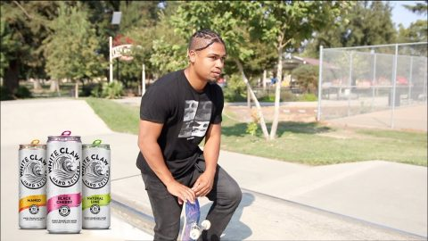5 Tricks, 5 WHITE CLAWS, 5 star Challenge *Lamont Holt* | Lamont Holt