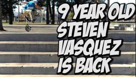9 YEAR OLD STEVEN VASQUEZ IS BACK !!! - A DAY WITH NKA - Nka Vids