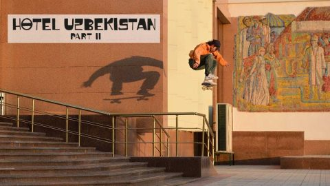A Skate Mission Train Ride Deep Into Uzebekistan  | HOTEL UZBEKISTAN Part 2 | Red Bull Skateboarding