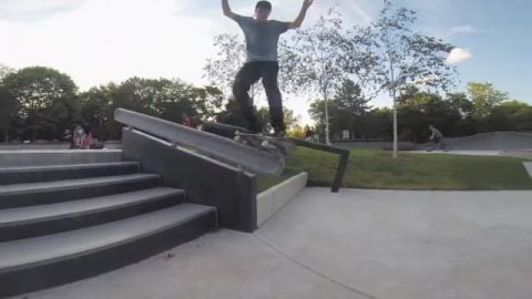 ALEX ULLMANN | 30 Seconds at the Skatepark - MOB Skateboards
