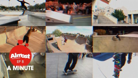 Almost A Minute EP8 / Daewon Song having fun with 4 basic steps and more! - Almost Skateboards