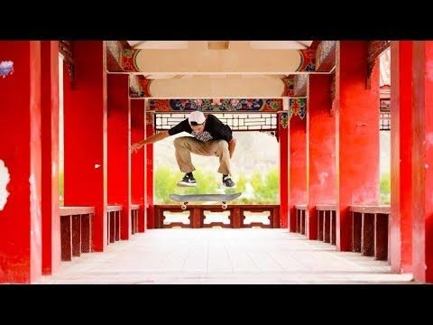 An unforgettable skate trip to Everest   Way to Everest Ep3 - Red Bull