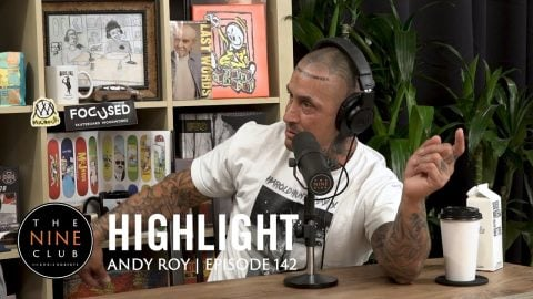 Andy Roy tells Prison stories while he was at Pelican Bay | The Nine Club Highlights