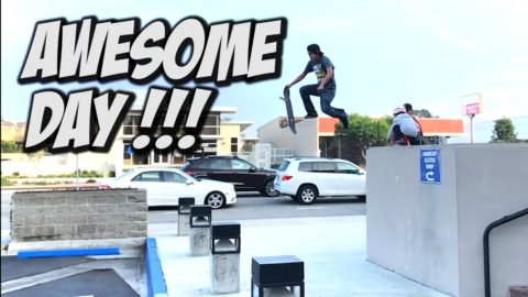 ANOTHER AWESOME SKATE DAY !!! - A DAY WITH NKA - Nka Vids