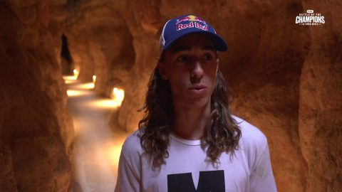 Athletes Exploring | Al-Qarah Mountain Caves | FISE