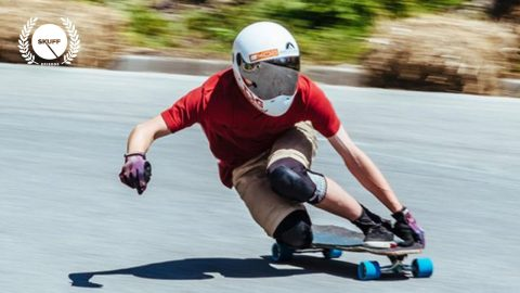 Badass Downhill Skateboarding | No Paws Down | Skuff TV Skate | Skuff TV - Action & Extreme Sports Channel