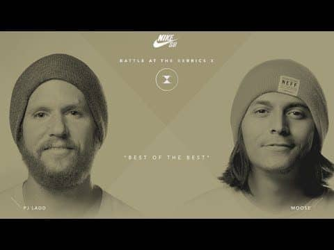 BATB X | PJ Ladd vs. Moose - Round 2 - The Berrics