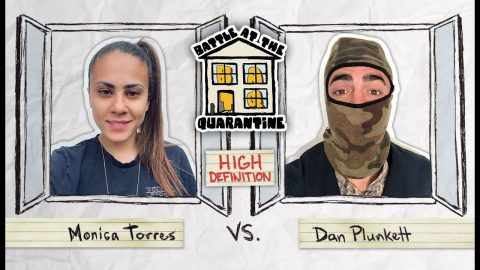 BATQ Round 2: Monica Torres Vs. Dan Plunkett High Definition | The Berrics