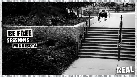 BE FREE Sessions : Minnesota with Ishod Wair, Kyle Walker & Chima Ferguson | REAL Skateboards