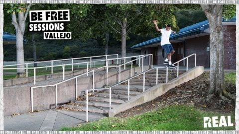 BE FREE Sessions : Vallejo with Ishod, Zion and the REAL crew | REAL Skateboards