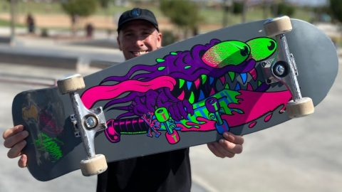 BLACKLIGHT REISSUE SERIES PRODUCT CHALLENGE! | Santa Cruz Skateboards | Santa Cruz Skateboards