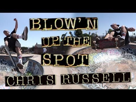 Blow'n Up The Spot: Chris Russell | Memorial Skatepark | Independent Trucks - Independent Trucks