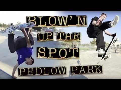 Blow'n Up The Spot: Pedlow Park | Winkowski, T-Funk Kader, Zach, & Aceves - Independent Trucks