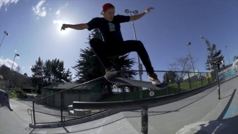 Blow'n Up The Spot with Dylan Witkin & Zach Allen | Potrero Park - Independent Trucks
