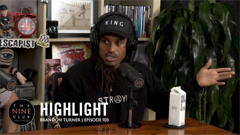 Brandon Turner Talks About Going To Prison | The Nine Club Highlights