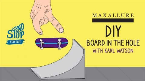 Build a Board in the Hole with Karl Watson | Zumiez
