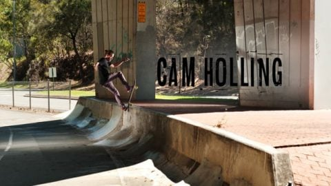CAM HOLLING | THE WEEKEND WARRIOR PART | The Skateboarder's Journal