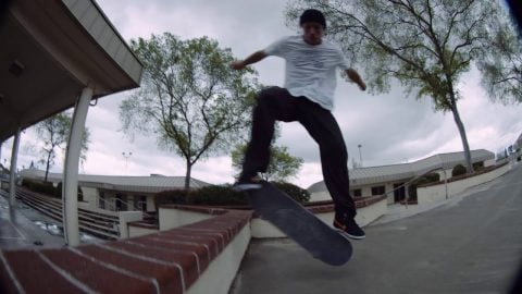 Carlos Ribeiro Battles Huge Switch Heelflip in Los Angeles | Behind the Ad | Independent Trucks