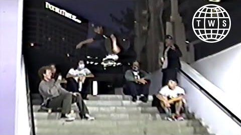 Cheapy   Justin and Chris Drysen and Friends Filmed On VHS Cameras   TransWorld SKATEboarding