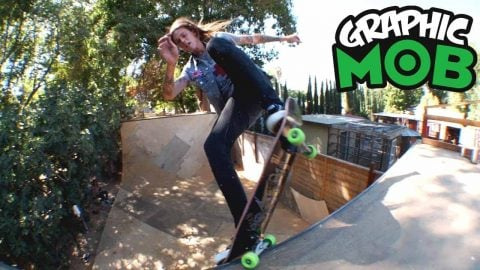 Chris Gregson: Graphic MOB x Independent | Backyard Ramp Hell Raisin' | Mob Grip