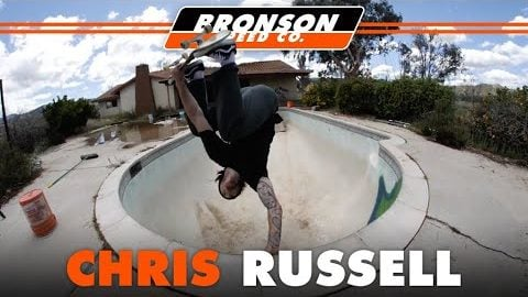 Chris Russell Shredding Memorial Skatepark | Bronson Speed Co.