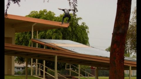 Cody McEntire Pouring Rain Nollie Big Spin Roof to Roof Raw Uncut - E. Clavel