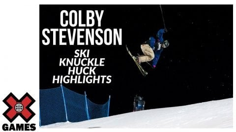 Colby Stevenson SKI KNUCKLE HUCK HIGHLIGHT REEL | X Games Aspen 2020 | X Games