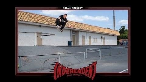 Collin Provost Flying Through The Crust | Behind The Ad | Independent Trucks