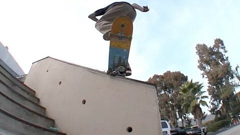 Cookie bs 180 Switch Nosegrind to Regs Raw Cut | E. Clavel