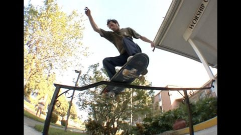 Cookie Switch Boardslide and fs Lip Kink Rail Raw Cut | E. Clavel