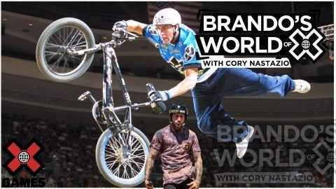 CORY NASTAZIO: Focus On One Thing   World of X Games   X Games