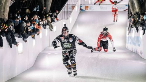 Crashed Ice Marseille: Men's Semifinal #2 | Red Bull Crashed Ice 2017 - Red Bull