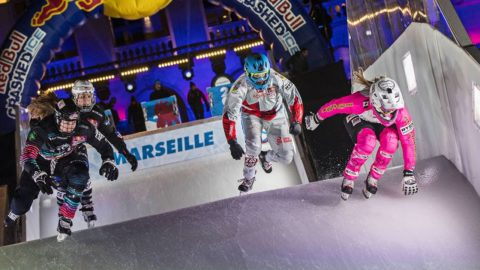 Crashed Ice Marseille: Women's Final | Red Bull Crashed Ice 2017 - Red Bull