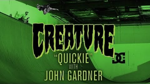 Creature Quickie: John Gardner | Creature Skateboards