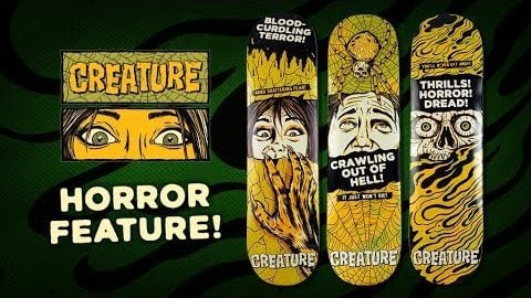 Creature Skateboards | Horror Feature Series | Creature Skateboards