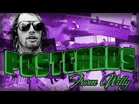 Creature Skateboards: Postcards from Willy - Creature Skateboards