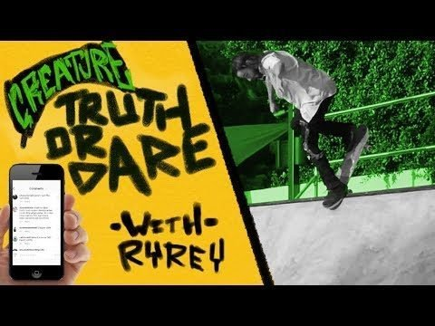 "Creature's ""Truth or Dare"" with Ryan Reyes - Creature Skateboards"
