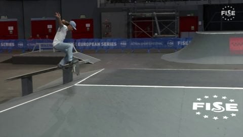 Danny Leon - 1st semi final skate - FISE European Madrid 2019 | FISE