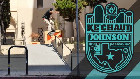 DARKSTAR LOCKUP PRO SERIES | KE'CHAUD JOHNSON - Darkstar Skateboards