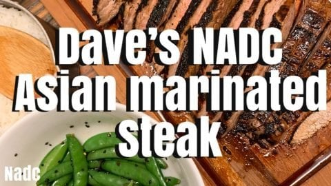 Daves NADC Asian Marinated steak | Neen Williams