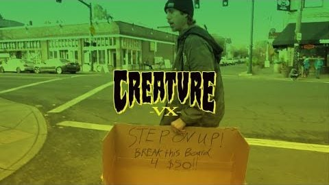 David Gravette puts the Creature VX Decks to the test! | Creature Skateboards