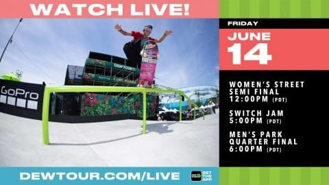 DAY 2: 2019 Dew Tour Long Beach Boost Mobile Switch Jam, Men's Park Quarter | Adventure Sports Network