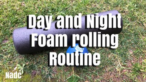 Day and night foam rolling routine Neen williams NADC | Neen Williams